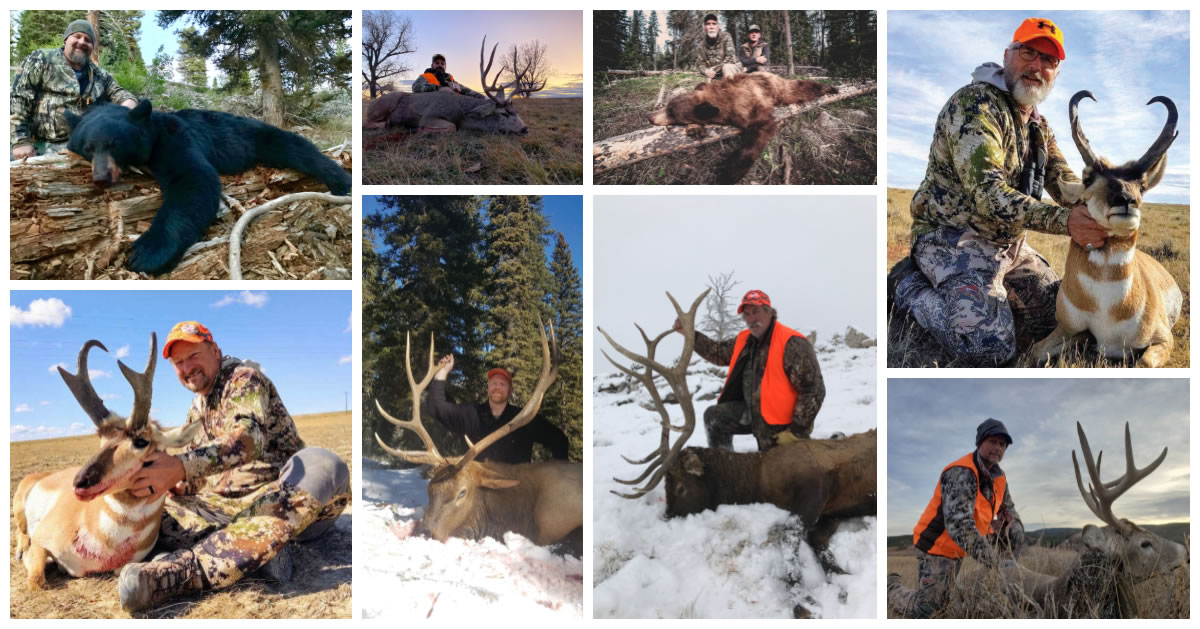 wyoming hunting trip with sns